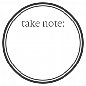 Basics Tag 01 Black Note