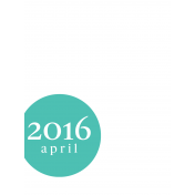 Month Pocket Card 03 April 3x4 Color