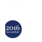 Month Pocket Card 03 November 3x4 Color