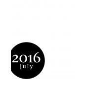 Month Pocket Card 03 July 3x4