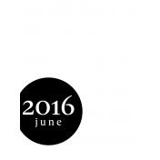 Month Pocket Card 03 June 3x4