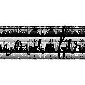 Month Word Art 02 November