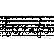 Month Word Art 02 December
