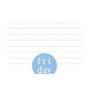 Weekly Pocket Card 03 Fri 4x6 Color