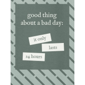 Bad Day- Journal Cards- Good Thing 3x4