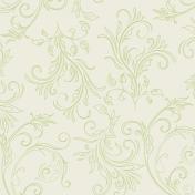 Unwind- Paper- Lime Swirls
