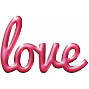 For The Love- Wordart- Love