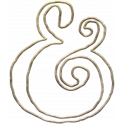 Our Special Day- Elements- Ampersand