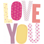 Love You- Elements- Love You Words