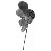 Dried Flowers- Templates- Flower 3
