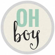 The Guys- Minikit- Word Art- Oh Boy