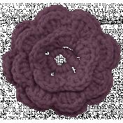 Younique- Elements- Crochet Flower