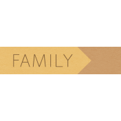 YesterYear- Elements- Family