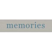 YesterYear- Elements- Memories