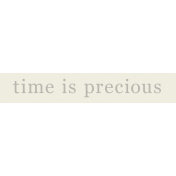 YesterYear- Elements- Time Precious