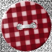 Picnic Day Button- Plaid