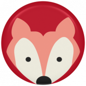 Picnic Day Flair- Fox