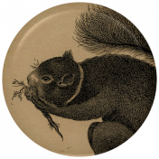 Picnic Day Flair- Squirrel 2