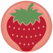 Picnic Day Flair- Strawberry
