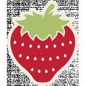 Picnic Day Sticker- Strawberry