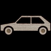 Picnic Day Wood- Car