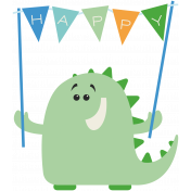 Happy Birthday- Minikit- Party Monster 2- Boy