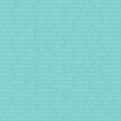 Happy Birthday- Minikit- Happy Birthday Paper- Teal