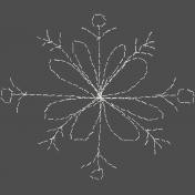 Winter Fun- Hand Drawn Snowflakes- Snowflake 1