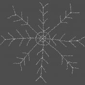 Winter Fun- Hand Drawn Snowflakes- Snowflake 2
