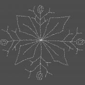 Winter Fun- Hand Drawn Snowflakes- Snowflake 3