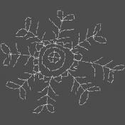 Winter Fun- Hand Drawn Snowflakes- Snowflake 5