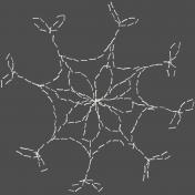 Winter Fun- Hand Drawn Snowflakes- Snowflake 7