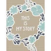 In The Pocket- Filler Journal Cards- My Story Tan