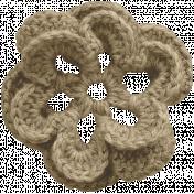 In The Pocket- Elements- Crochet Flower