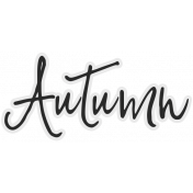 In The Pocket- Elements- Word Art- Autumn