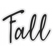 In The Pocket- Elements- Word Art- Fall