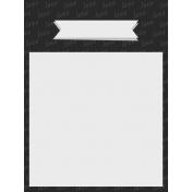 In The Pocket- Minikit- Journal Card- Love Black