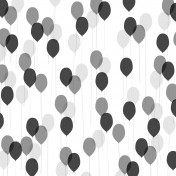 Paper Templates- Party- 06 Balloons
