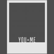 Family Day- Elements- Polaroid You + Me