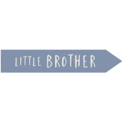 Family Day- Elements- Wordart- Little Brother