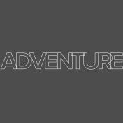 Nature Escape- Minikit- Element- Word Art- Adventure