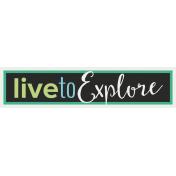 Nature Escape- Minikit- Element- Word Art- Explore