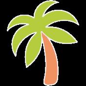 Summer Lovin- Minikit- Sticker- Palm Tree