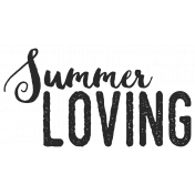 In The Pocket- Elements- Word Art- Summer Loving