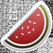 Food Day- Elements- Watermelon Sticker