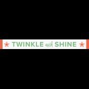 Home for the Holidays- Minikit- WA- Twinkle