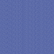 Digital Day- Papers- Words Blue