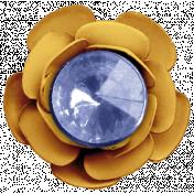 Digital Day- Elements- Gold Flower