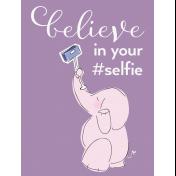 Digital Day- Filler Cards- Elephant Selfie- 3x4