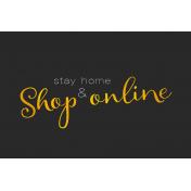Digital Day- Filler Cards- Shop Online- 6x4